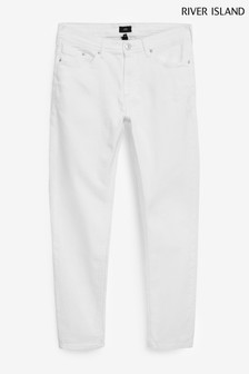 River Island White Skinny Jeans