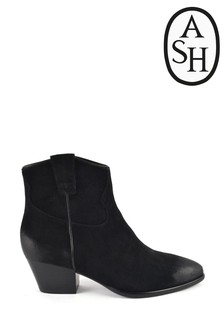 Ash Huston Suede Ankle Boots