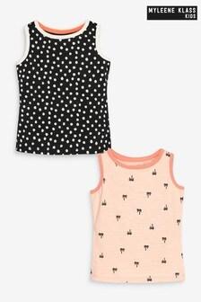 Myleene Klass Kids Vests 2 Pack
