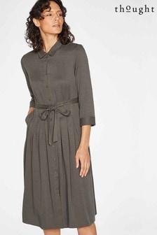 Thought Grey Scarlett Shirt Dress