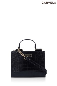 Carvela Black Jessica Mini Tote Bag