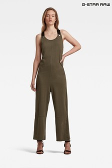 G-Star Green Dungaree Jumpsuit