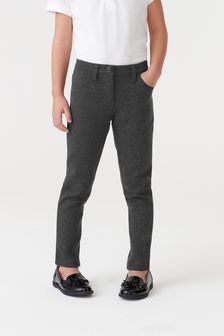 Grey Jersey Skinny Trousers (3-16yrs)