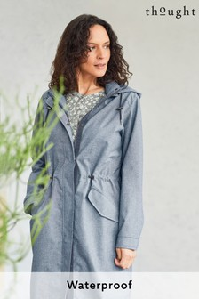 Thought Blue Jessica Waterproof Coat