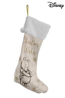Disney™ Winnie The Pooh Grey Christmas Stocking