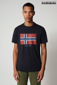 Napapijri Navy Sirol T-Shirt