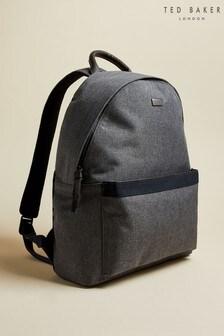 Ted Baker Grey Setgo Textured Backpack