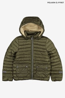 Polarn O. Pyret Green Water Resistant Winter Padded Jacket