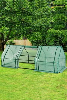 2.7m Polytunnel Steeple Greenhouse by Outsunny