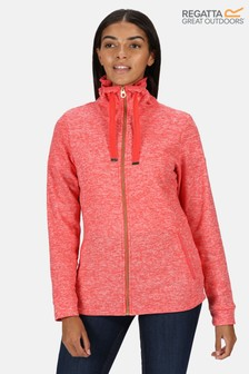 Regatta Red Evanna Full Zip Fleece