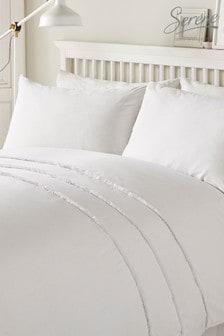 Serene Tassel Duvet Cover And Pillowcase Set