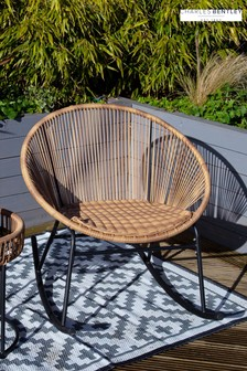 Zanzibar Natural Chair by Charles Bentley