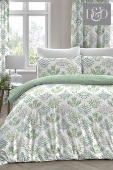 Emily Fern Duvet Cover and Pillowcase Set by D&D