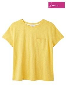 Joules Yellow Sofi Pocket T-Shirt