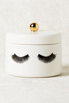 Eyelash Trinket Pot