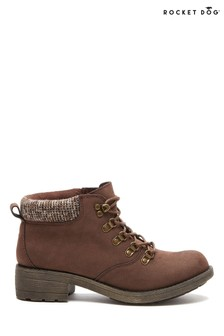 Rocket Dog Brown Train Pablo Ankle Boots
