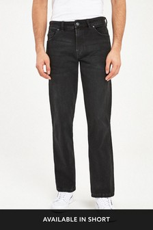 Black Bootcut Fit Jeans With Stretch