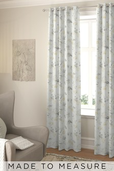 Grange Lemon Gold Made To Measure Curtains