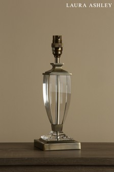 Laura Ashley Carson Antique Brass Crystal Table Lamp Base