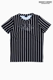 Society Sport Kids Vertical Stripe T-Shirt