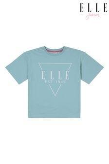ELLE Oversized Triangle Logo T-Shirt