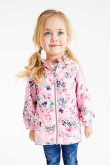 Pink Unicorn Shower Resistant Cagoule (3mths-10yrs)