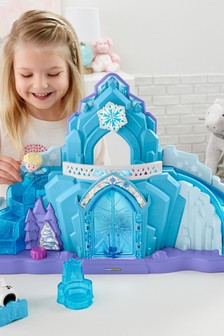 Fisher-Price Little People Disney™ Frozen Elsa's Ice Palace Musical Light Up Playset