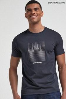Emporio Armani Eagle Graphic Sweat T-Shirt