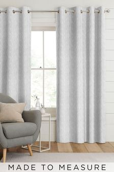 Kally Silver Grey Made To Measure Curtains
