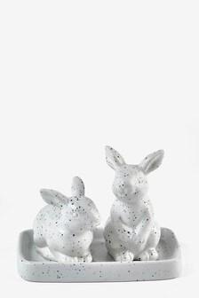 Rabbit Salt And Pepper Pots