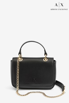 Armani Exchange Black Mini Shoulder Bag