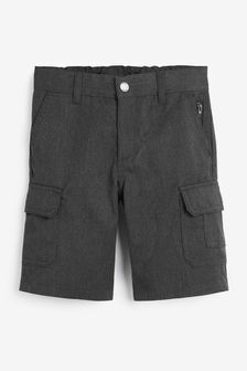 Grey Combat Shorts (3-12yrs)