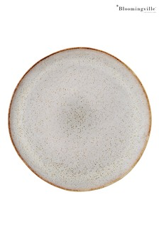 Bloomingville Grey Sandrine Stoneware Plate