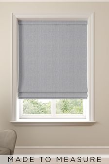 Reeve Slate Grey Made To Measure Roman Blind