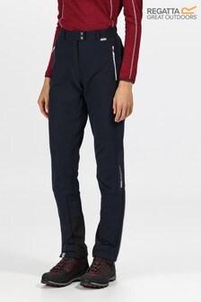 Regatta Blue Womens Mountain Trousers