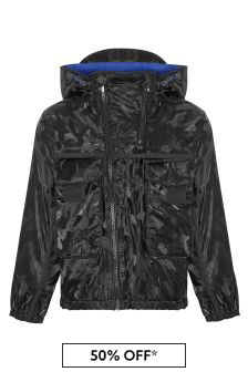 Emporio Armani Boys Black Jacket