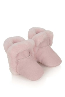 Baby Girls Pink I Lassen Booties