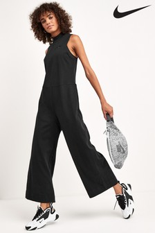 Nike Black Jersey Jumpsuit