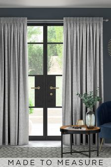 Lara Slate Grey Made To Measure Curtains