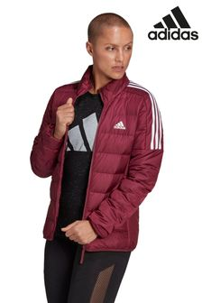 adidas Red Essential Down Filled Jacket