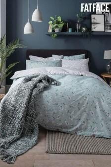 FatFace Brush Stroke Floral Cotton Duvet Cover and Pillowcase Set