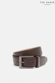 Ted Baker Lizwiz Leather Keeper Plate Belt