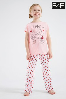 F&F Pink Minnie™ Pyjamas