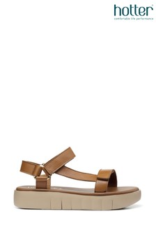 Hotter Flexi Touch Fastening Wedge Sandals
