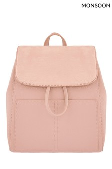 Monsoon Pink Paxton Pocket Backpack