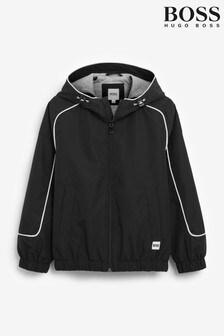 BOSS Black Logo Windbreaker Jacket