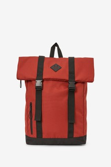 Rust Rolltop Backpack
