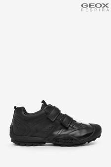 Geox  Junior Boys R Savage Black Shoes