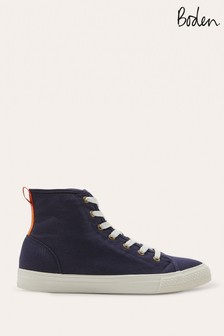 Boden Blue Philippa Trainers