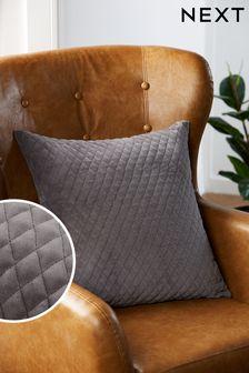 Velvet Quilted Hamilton Cushion